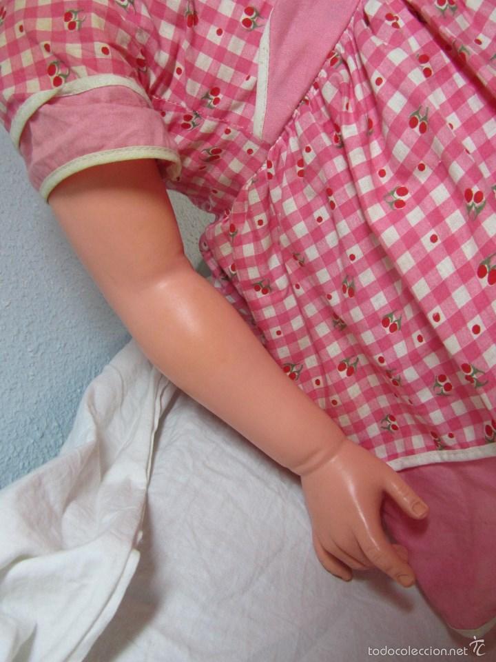 Muñecas Modernas: Gran muñeca americana andadora Uneeda 36-23, 36-T, 90 centímetros de altura - Foto 9 - 60639323
