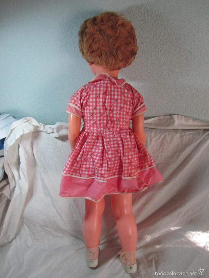 Muñecas Modernas: Gran muñeca americana andadora Uneeda 36-23, 36-T, 90 centímetros de altura - Foto 13 - 60639323