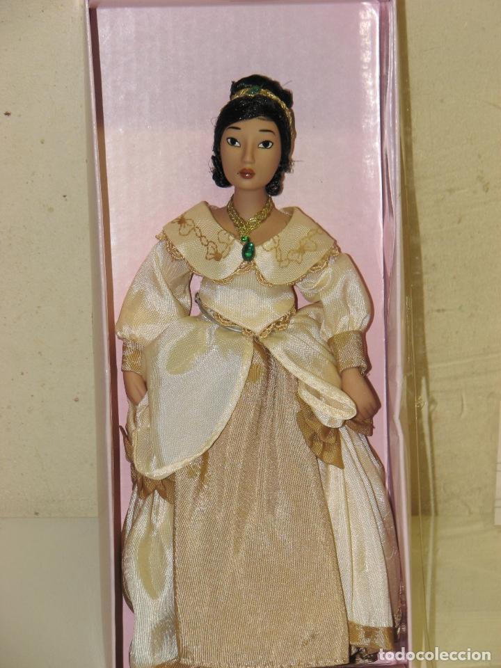 Muñecas Modernas: PRINCESAS DISNEY DE PORCELANA POCAHONTAS - Foto 3 - 64398047