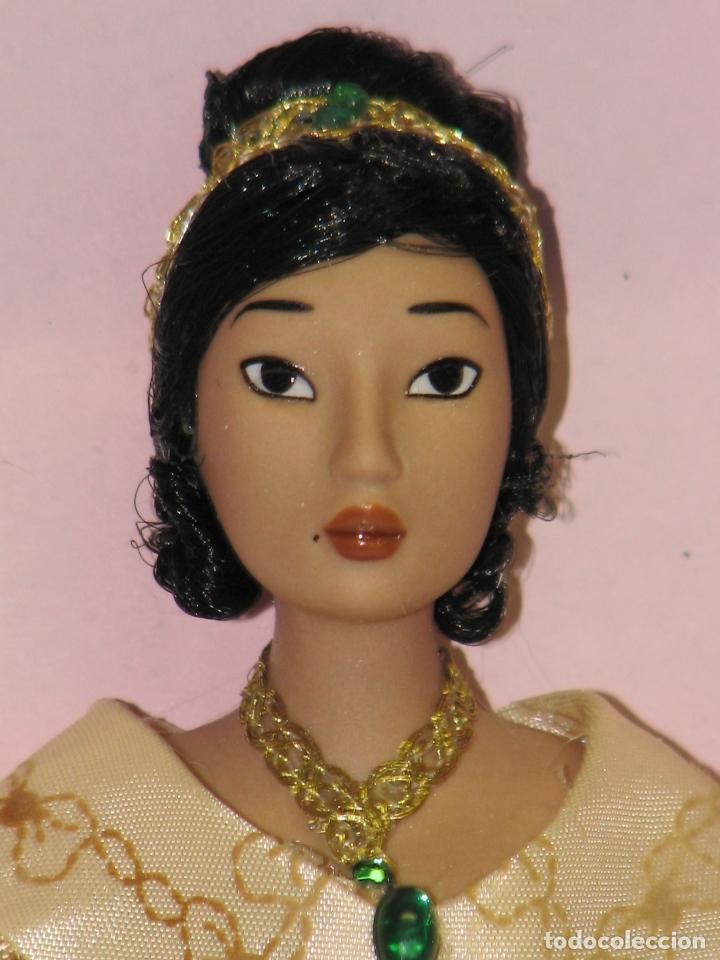 Muñecas Modernas: PRINCESAS DISNEY DE PORCELANA POCAHONTAS - Foto 4 - 64398047