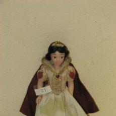 Muñecas Modernas: PRINCESAS DISNEY DE PORCELANA BLANCANIEVES. Lote 112292924
