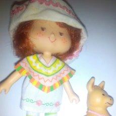 Muñecas Modernas: TARTA DE FRESA DE LOS 80: CAFÉ OLÉ CON BURRITO. Lote 68599813