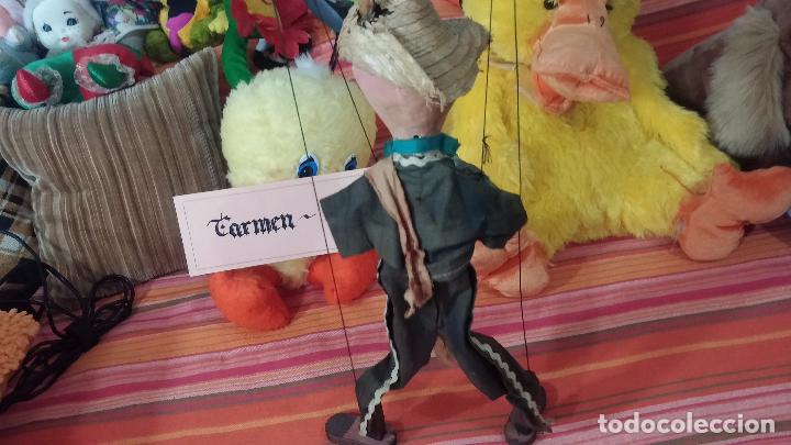 Muñecas Modernas: Antiguo muñeco marioneta, un gracioso mexicano con dos pistolas, quizás Pancho Villa - Foto 5 - 69718121