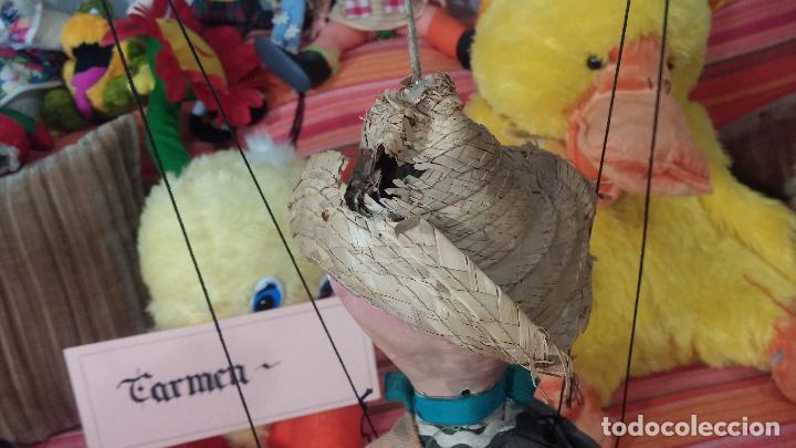 Muñecas Modernas: Antiguo muñeco marioneta, un gracioso mexicano con dos pistolas, quizás Pancho Villa - Foto 7 - 69718121