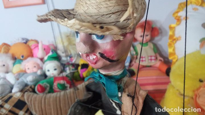 Muñecas Modernas: Antiguo muñeco marioneta, un gracioso mexicano con dos pistolas, quizás Pancho Villa - Foto 10 - 69718121