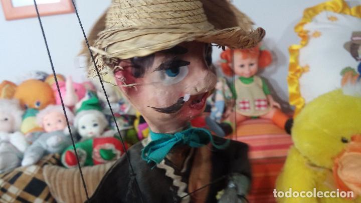 Muñecas Modernas: Antiguo muñeco marioneta, un gracioso mexicano con dos pistolas, quizás Pancho Villa - Foto 11 - 69718121
