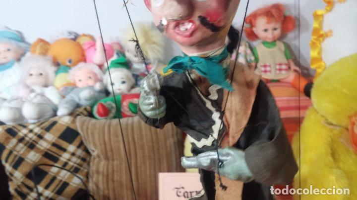 Muñecas Modernas: Antiguo muñeco marioneta, un gracioso mexicano con dos pistolas, quizás Pancho Villa - Foto 12 - 69718121