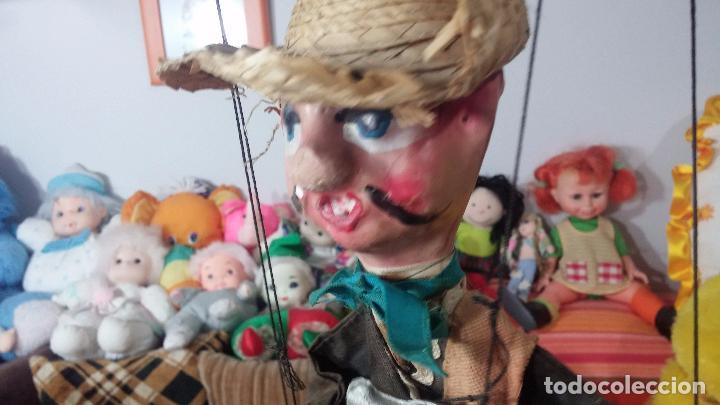Muñecas Modernas: Antiguo muñeco marioneta, un gracioso mexicano con dos pistolas, quizás Pancho Villa - Foto 14 - 69718121