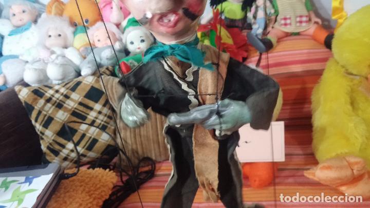 Muñecas Modernas: Antiguo muñeco marioneta, un gracioso mexicano con dos pistolas, quizás Pancho Villa - Foto 17 - 69718121