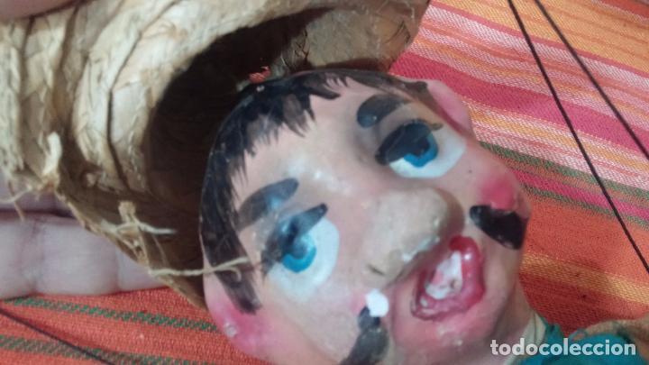 Muñecas Modernas: Antiguo muñeco marioneta, un gracioso mexicano con dos pistolas, quizás Pancho Villa - Foto 26 - 69718121
