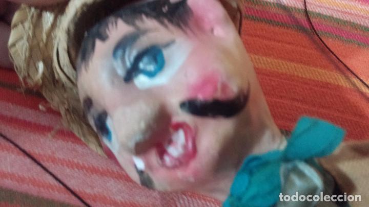 Muñecas Modernas: Antiguo muñeco marioneta, un gracioso mexicano con dos pistolas, quizás Pancho Villa - Foto 28 - 69718121