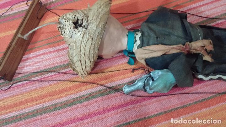Muñecas Modernas: Antiguo muñeco marioneta, un gracioso mexicano con dos pistolas, quizás Pancho Villa - Foto 33 - 69718121
