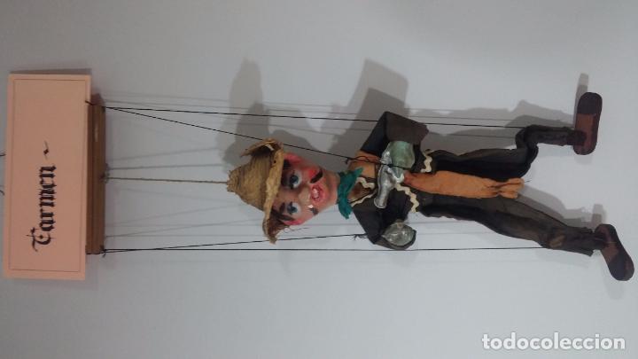 Muñecas Modernas: Antiguo muñeco marioneta, un gracioso mexicano con dos pistolas, quizás Pancho Villa - Foto 36 - 69718121