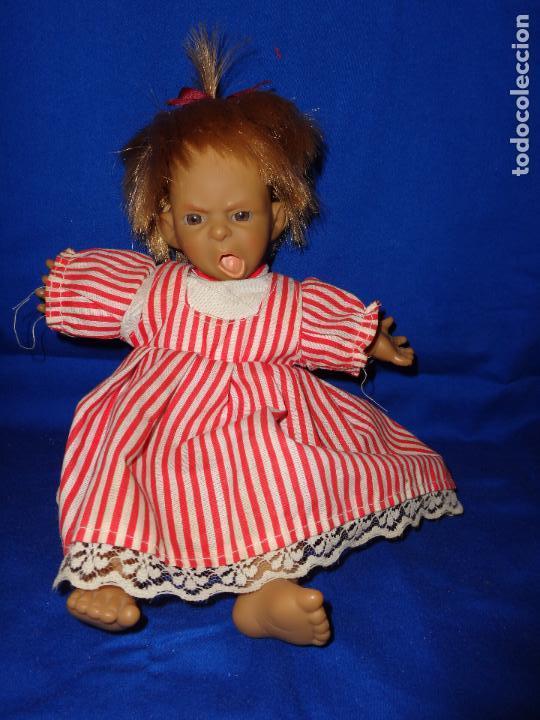 Muñecas Modernas: GRACIOSA MUÑECA CUERPO TELA CABEZA, BRAZOS Y PIERNAS VINILO, VER FOTOS!! SBB - Foto 2 - 69797885