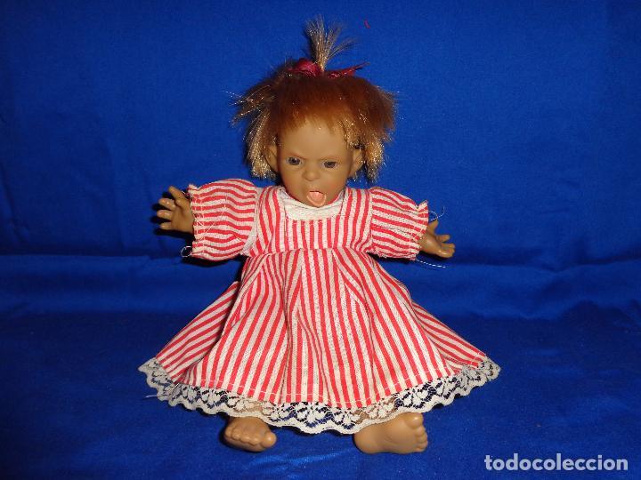 Muñecas Modernas: GRACIOSA MUÑECA CUERPO TELA CABEZA, BRAZOS Y PIERNAS VINILO, VER FOTOS!! SBB - Foto 9 - 69797885