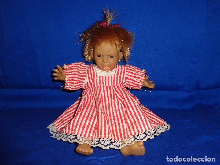 Muñecas Modernas: GRACIOSA MUÑECA CUERPO TELA CABEZA, BRAZOS Y PIERNAS VINILO, VER FOTOS!! SBB - Foto 10 - 69797885