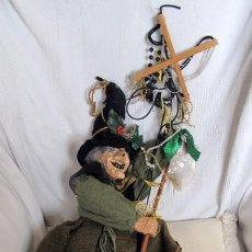 Muñecas Modernas: MARIONETA GRANDE DE BRUJA DE LA SUERTE. Lote 70301965