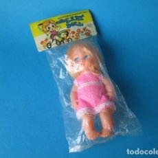 Muñecas Modernas: MUÑECA BABY DOLL HONG KONG AÑOS 80 NUEVA. Lote 141173768