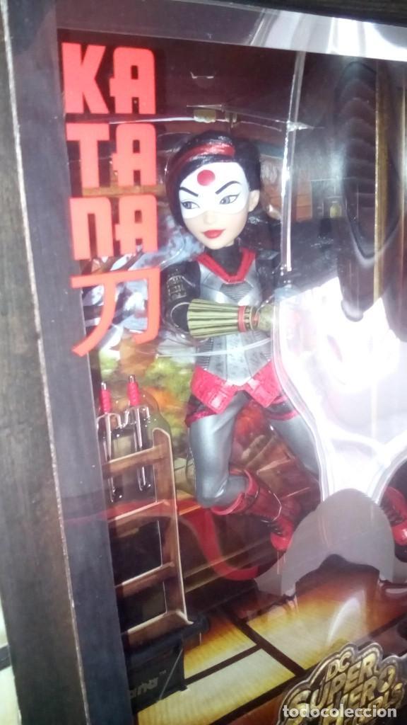 Muñecas Modernas: Muñeca exclusiva y limitada de las SUPER HERO GIRLS KATANA de la COMIC CON ( SDCC) 2016 - Foto 3 - 71472263