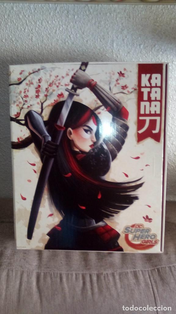 Muñecas Modernas: Muñeca exclusiva y limitada de las SUPER HERO GIRLS KATANA de la COMIC CON ( SDCC) 2016 - Foto 4 - 71472263