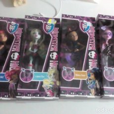 Muñecas Modernas: LOTE MONSTER HIGH COLECCION COMPLETA. Lote 74237351