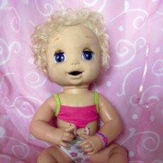 Muñecas Modernas: MUÑECA HASBRO BABY ALIVE 43CM INTERACTIVA - DOLL, POUPÉE. Lote 74251935