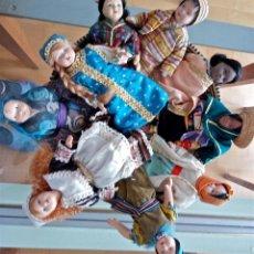 Muñecas Modernas: MUÑECAS DEL MUNDO. LOTE DE 9. Lote 75724295