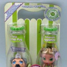 Muñecas Modernas: YUMMI LAND ICE CREAM POP GIRLS MGA AMANDA APPLETINA NUEVO EN BLISTER. Lote 76517111