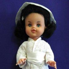 Muñecas Modernas: MUÑECA ANTIGUA DE LOS 60-70 CON TRAJE JAPONES DE CALIDAD. Lote 77504873
