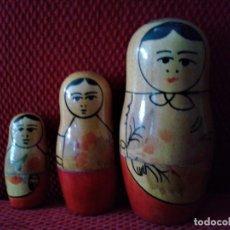 Muñecas Modernas: PRECIOSA Y CLÁSICA MUÑECA RUSA ,SE DESPLIEGAN EN CUATRO MUÑECAS.. Lote 78626309