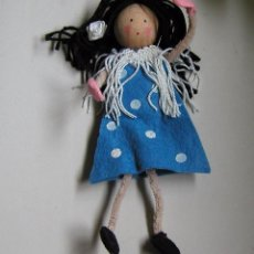 Muñecas Modernas: GRACIOSA MUÑECA GITANA TIPO FOFUCHA TOTAMLEMENTE REALIZADA A MANO. Lote 78920341