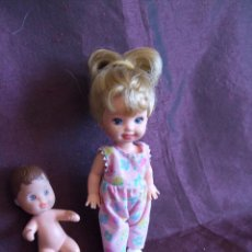Muñecas Modernas: MUÑECA SHELLY Y HERMANITO DE BARBIE , MATTEL 1973. TODA DE ORIGEN. PELO LARGO. Lote 79107733