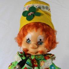 Muñecas Modernas: MUÑECO B.B PITIROLO ARLEQUIN O PAYASO.AÑO 1972.ROPA ORIGINAL DE BB . Lote 86076122