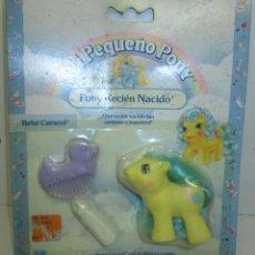 Mi Pequeño Pony-My Little-RECIEN NACIDO-BEBÉ CARACOL-BABY SQUIRMY-HASBRO/MB ESPAÑA 1989,nuevo