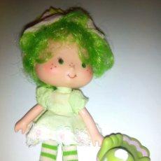 Muñecas Modernas: TARTA DE FRESA DE LOS 80: SORBETE DE LIMA CON SU MASCOTA. Lote 85351228