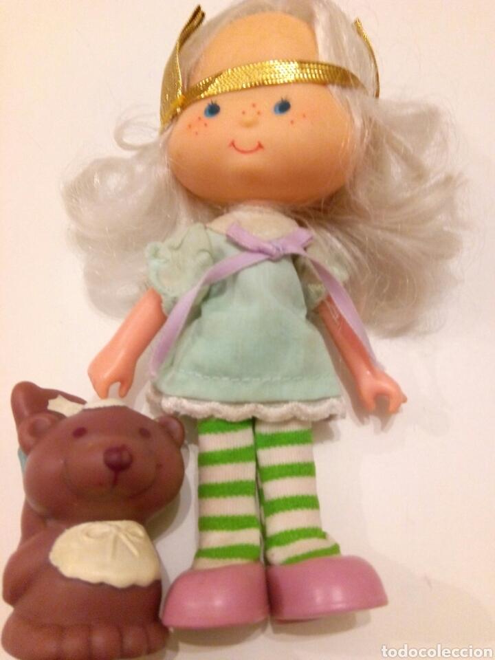 Muñecas Modernas: TARTA DE FRESA DE LOS 80: Cabello de Ángel con su mascota - Foto 2 - 85352330