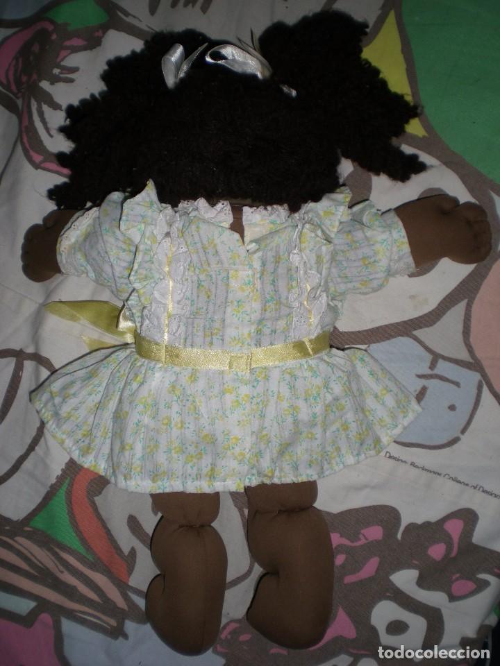 Muñecas Modernas: bonita muñeca cabbage patch kid negra mulata años 78/82 sellada completa de origen muy buen estado - Foto 4 - 85943832