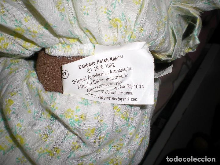 Muñecas Modernas: bonita muñeca cabbage patch kid negra mulata años 78/82 sellada completa de origen muy buen estado - Foto 7 - 85943832