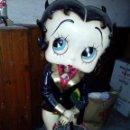 Muñecas Modernas: FIGURA DE BAKELITA DE BETTY BOOP, TAMAÑO NATURAL 1,25 METROS, FIGURA UTILIZADA COMO PARAGUERO. Lote 86168212