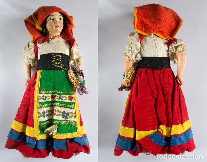 ANTIGUA MUÑECA ITALIANA (MAGIS ROMA) AÑOS 70, 27 CM. DE ALTURA (Juguetes - Muñeca Extranjera Moderna - Otras Muñecas)