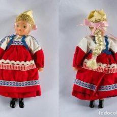 Muñecas Modernas: MUÑECA RUSA TRAJE TRADICIONAL AÑOS 60, 20CM. DE ALTURA. Lote 86581552