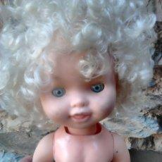 Muñecas Modernas: VIEJA MUÑECA PATINADORA,IDEAL RESTAURADORES, VER FOTOS. Lote 86657370