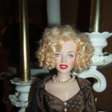 Moderne Puppen - ESPECTACULAR!! MUÑECA MARILYN MONROE FRANKLIN MINT 40 CM - 88023280