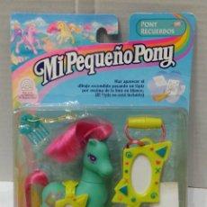 Muñecas Modernas: MI PEQUEÑO PONY. PONY RECUERDOS. NUEVO EN BLISTER. HASBRO. MY LITTLE PONY.. Lote 88819504