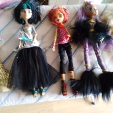 Muñecas Modernas: LOTE MONSTER HIGH. Lote 88892160