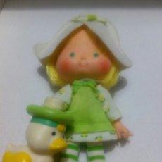 Muñecas Modernas: TARTA DE FRESA DE LOS 80: TULIPA DE MENTA CON SU MASCOTA. Lote 89316951