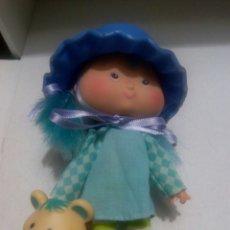 Muñecas Modernas: TARTA DE FRESA DE LOS 80: MERMELITA DE MORA CON SU MASCOTA. Lote 89319308