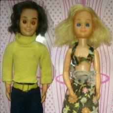 Muñecas Modernas: LOTE DE PAPA STEVE Y MAMA STEFFIE DE SUNSHINE FAMILY - MATTEL - 1975, CON DEFECTOS, EPOCA NANCY. Lote 54770718