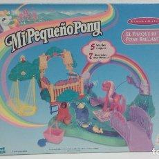 Muñecas Modernas: MI PEQUEÑO PONY-EL PARQUE DE PONY BRILLANTE HASBRO INCLUYE PONY-ESTRENAR 1999. Lote 93411975