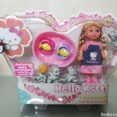 Muñecas Modernas: MUÑECA HELLO KITTY Y SUS MASCOTAS NUEVO PRECINTADO. Lote 94162102
